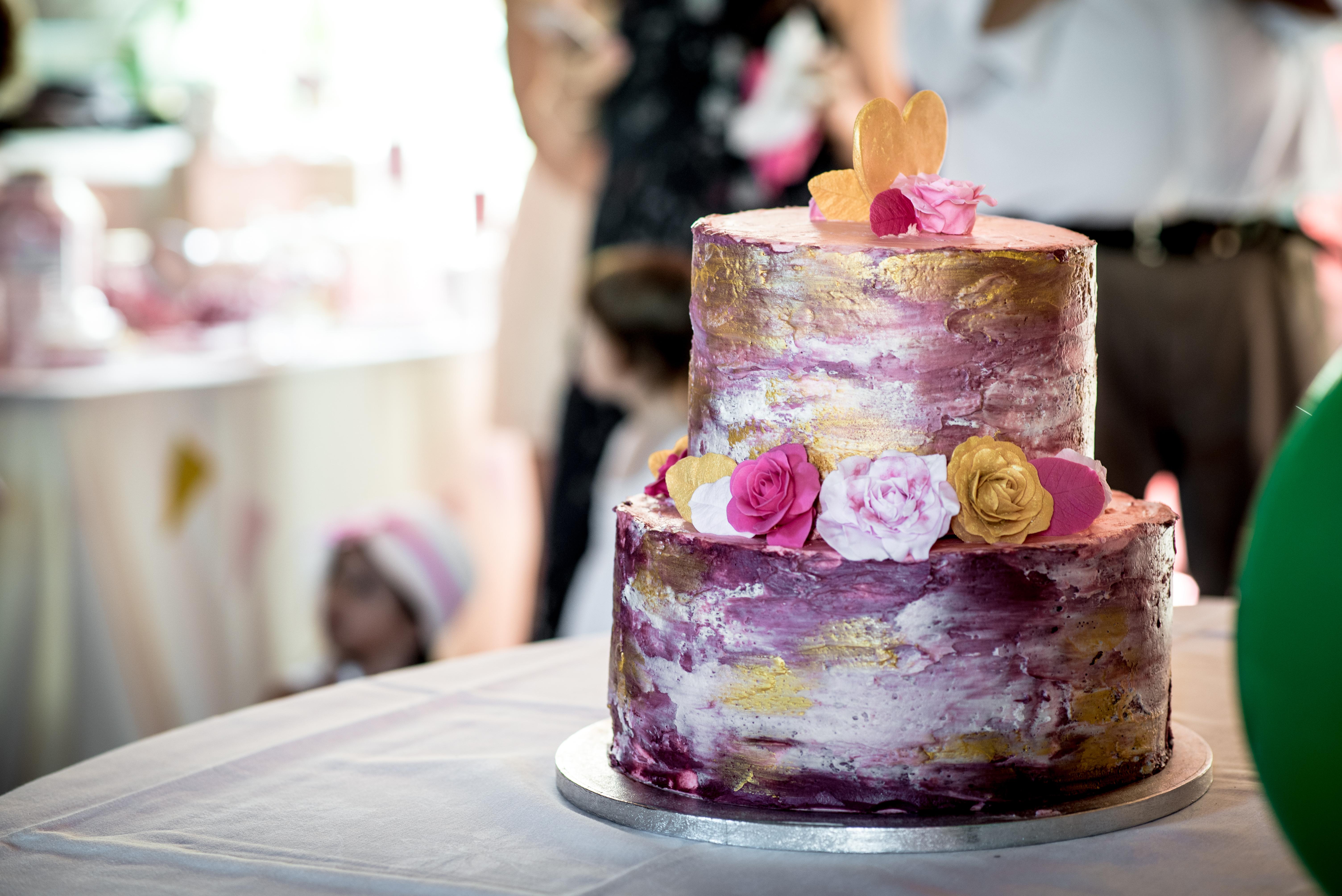 Hochzeitstorte Rustikale Romantik Zuckerstube